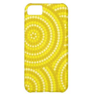 Aboriginal dot painting iPhone 5C cover