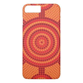 Aboriginal dot painting iPhone 7 plus case