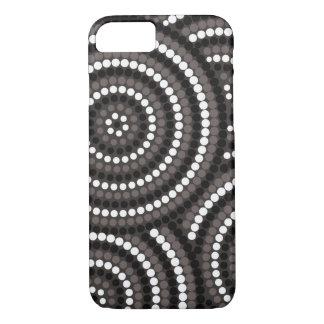 Aboriginal Dot Painting iPhone Case