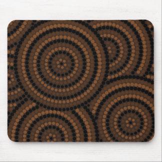 Aboriginal Dot Painting Mouse Pad
