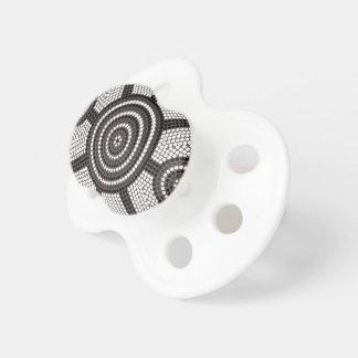 Aboriginal dot painting pacifier