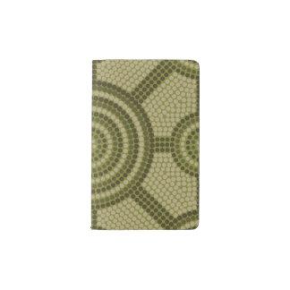 Aboriginal dot painting pocket moleskine notebook