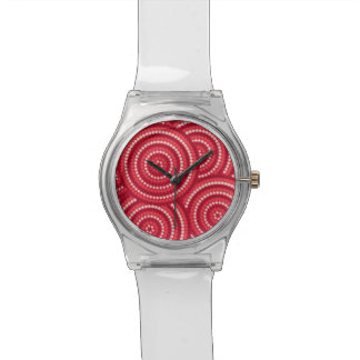 Aboriginal dot painting watches