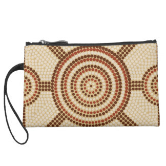 Aboriginal dot painting wristlets