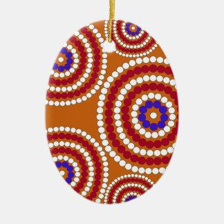 Aboriginal edition ceramic ornament