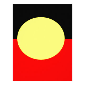 aboriginal-Flag Letterhead
