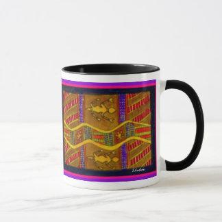Aboriginal Goanas by S Ambrose Mug