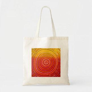 Aboriginal inspired tote bag