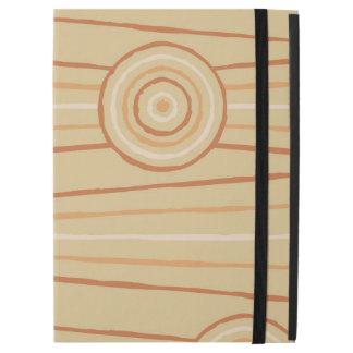 Aboriginal line and circle painting