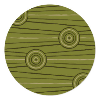 Aboriginal line and circle painting card