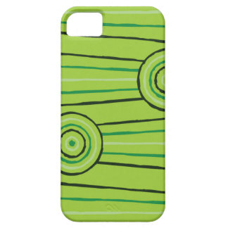 Aboriginal line and circle painting case for the iPhone 5