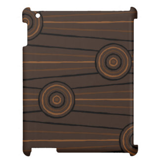 Aboriginal line and circle painting cover for the iPad