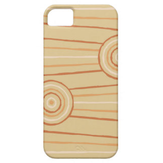 Aboriginal line and circle painting iPhone 5 covers