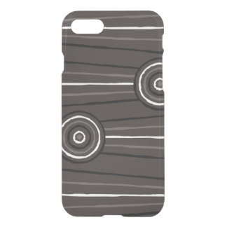 Aboriginal line and circle painting iPhone 7 case