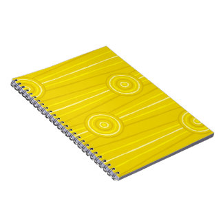 Aboriginal line and circle painting notebook