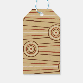 Aboriginal line and circle painting pack of gift tags