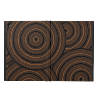 Aboriginal line painting cover for iPad air