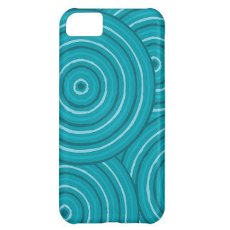 Aboriginal line painting cover for iPhone 5C