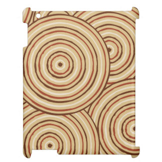 Aboriginal line painting cover for the iPad