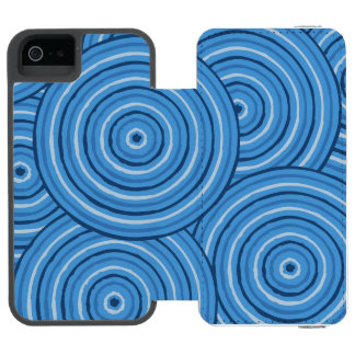 Aboriginal line painting incipio watson™ iPhone 5 wallet case