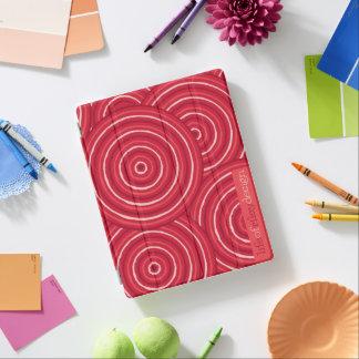 Aboriginal line painting iPad cover
