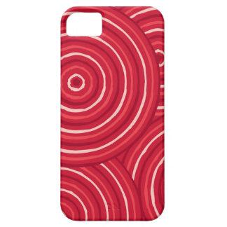 Aboriginal line painting iPhone 5 cases