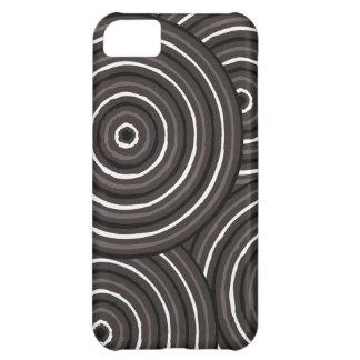Aboriginal line painting iPhone 5C cover