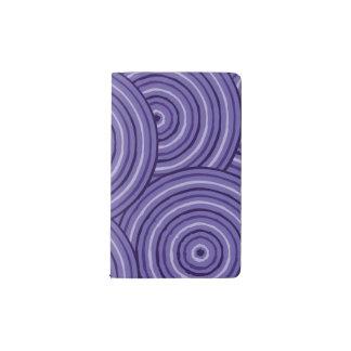 Aboriginal line painting pocket moleskine notebook