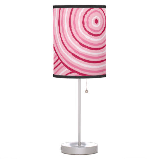 Aboriginal line painting table lamp