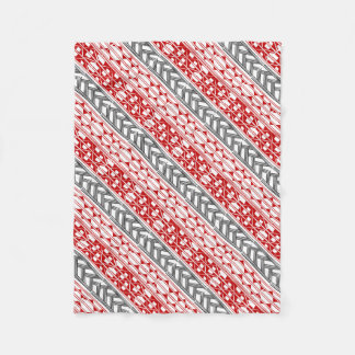 Aboriginal print nº 01 fleece blanket