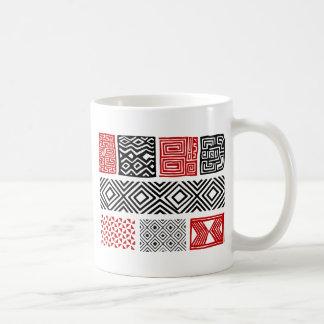 Aboriginal print nº 02 coffee mug