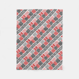 Aboriginal print nº 02 fleece blanket