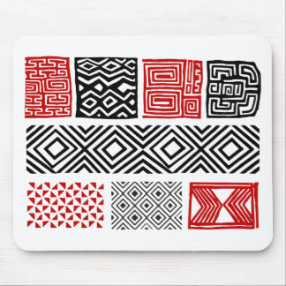 Aboriginal print nº 02 mouse pad