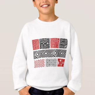 Aboriginal print nº 02 sweatshirt