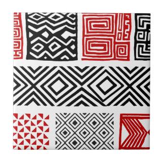 Aboriginal print nº 02 tile