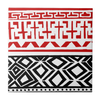 Aboriginal print nº 03 tile