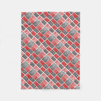 Aboriginal print nº 05 fleece blanket