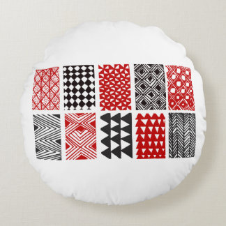 Aboriginal print nº 05 round pillow