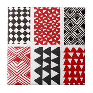 Aboriginal print nº 05 tile