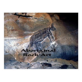 Aboriginal Rock art Postcard