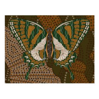 Aboriginal Swallowtail Postcard