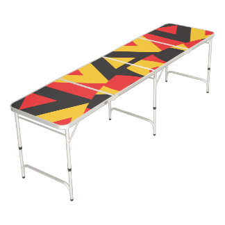 aboriginal tribal beer pong table