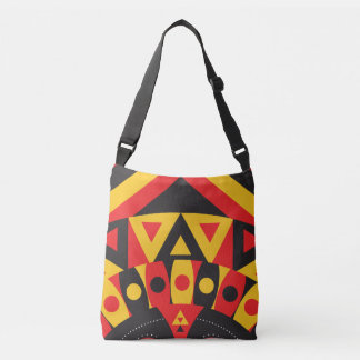 aboriginal tribal crossbody bag