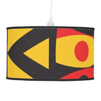 aboriginal tribal pendant lamp