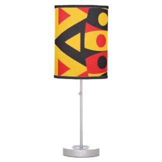 aboriginal tribal table lamp