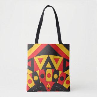 aboriginal tribal tote bag