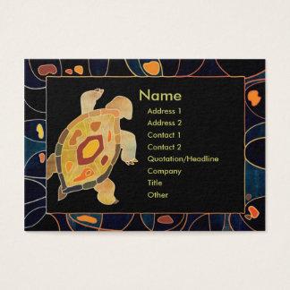 Aboriginal Turtle Professional Business Cards
