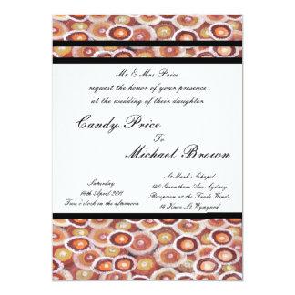 Aboriginal Wedding Invitation Tribal Land