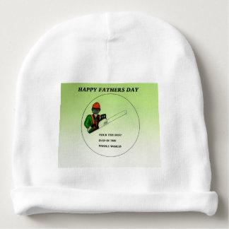 Aborist Tree surgeon Fathers Day present gift. Baby Beanie