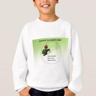 Aborist Tree surgeon Fathers Day present gift. Sweatshirt